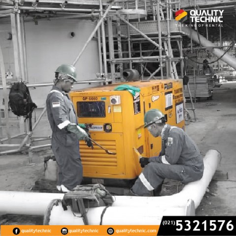 Sewa Genset Quality Technic