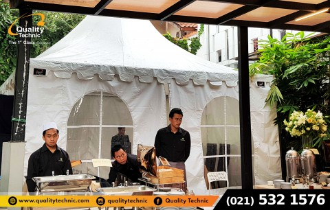 Rental Tent & Genset by Quality Technic, Pejaten